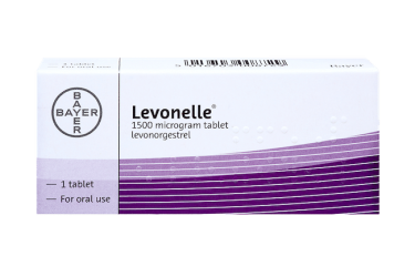 Pack of 1 tablet Levonelle 1500 microgram