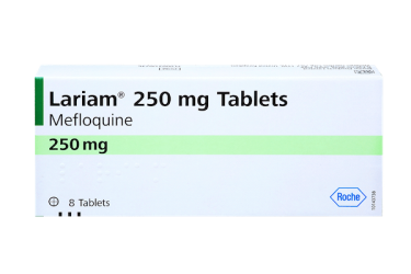Pack of 8 tablets Lariam 250 mg for malaria