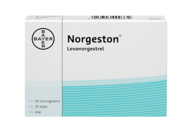 norgeston 30 micrograms, pack of 35 tablets