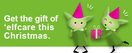Give the gift of 'elfcare this Christmas