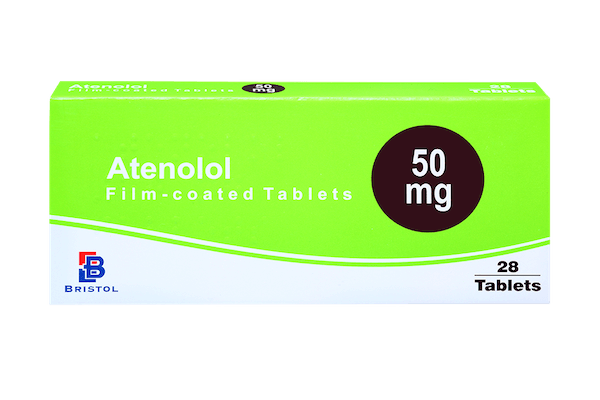 3 month pack of atenolol 50mg